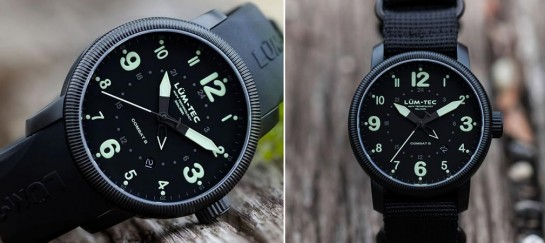 Lum-Tec Combat B21 GMT Watch
