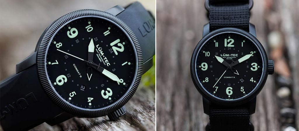 tec lum combat military watch b with straps watches