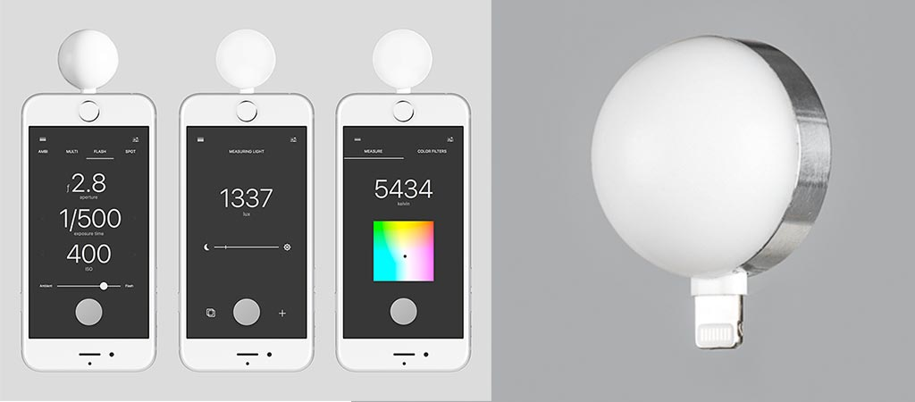 Lumu Power Light Meter for Your iPhone