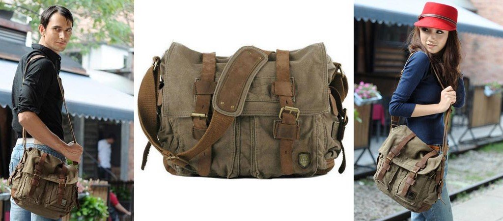 Military Style Messenger Bag