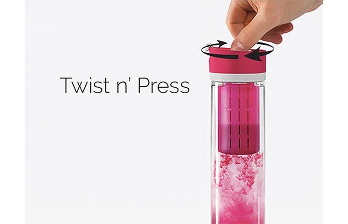 Twist-N-Press System Pressa Bottle