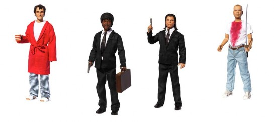 Pulp Fiction Explicit Talking Figures | By Beeline Creative