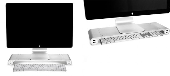 Space Bar Desk Organizer With USB Ports | By Quirky