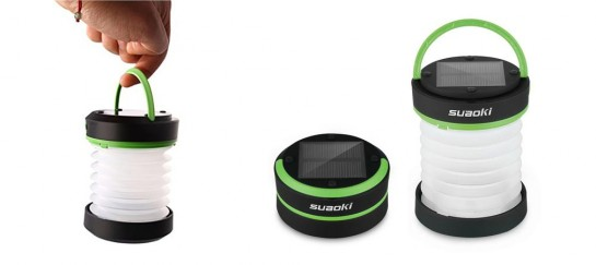 Suaoki Solar LED Lantern And Phone Charger