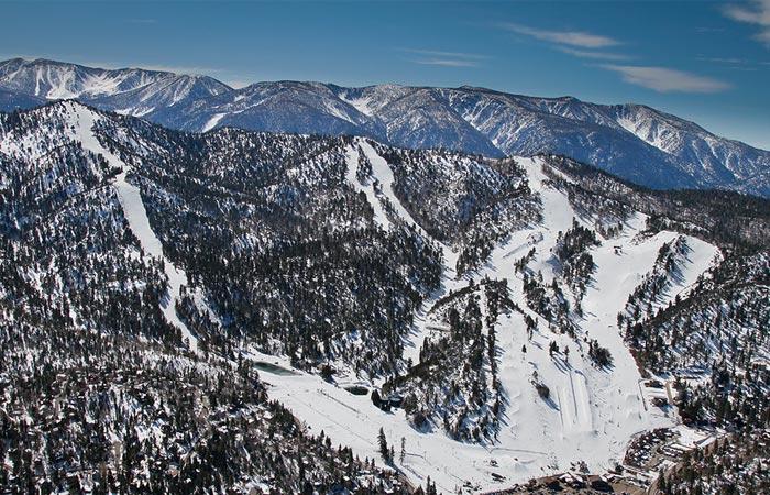 Bear Mountain Ski Resort, California