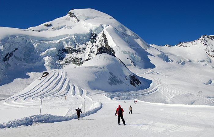 Monte Rosa ski resort, Italy.