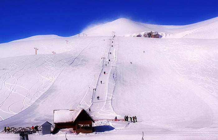 Popova Shapka ski resort, Macedonia.