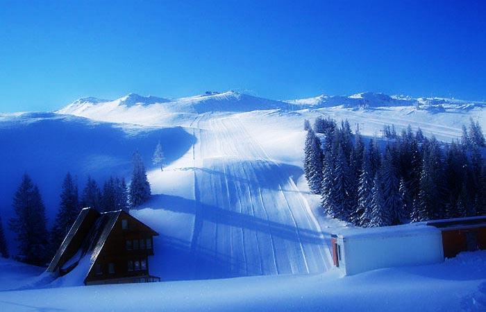 Jahorina ski resort, Bosnia and Herzegovina.