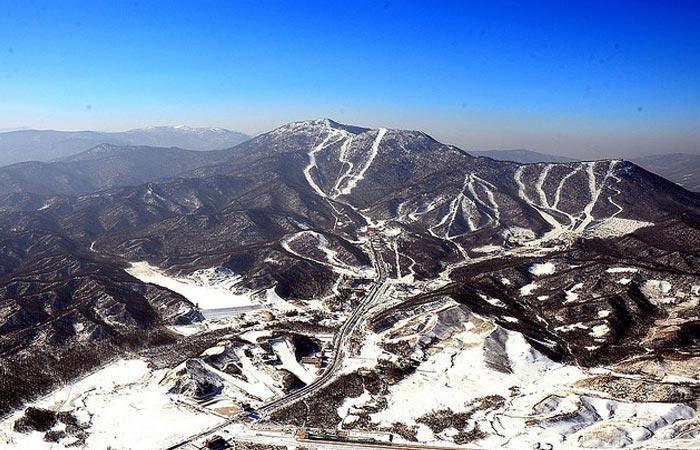 Yabuli ski resort, China.