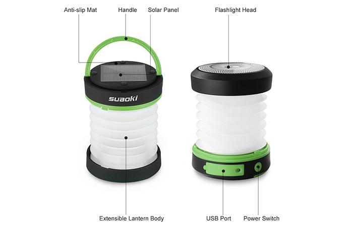 Suaoki Solar LED Light Christmas Decoration Lantern features