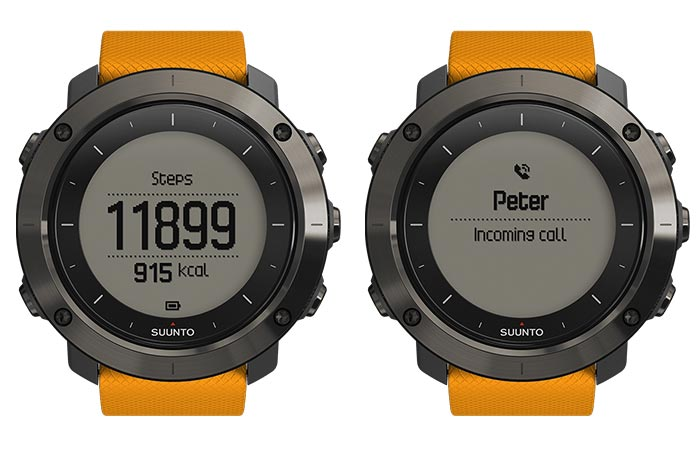 Suunto Traverse Steps,Calories and Calls