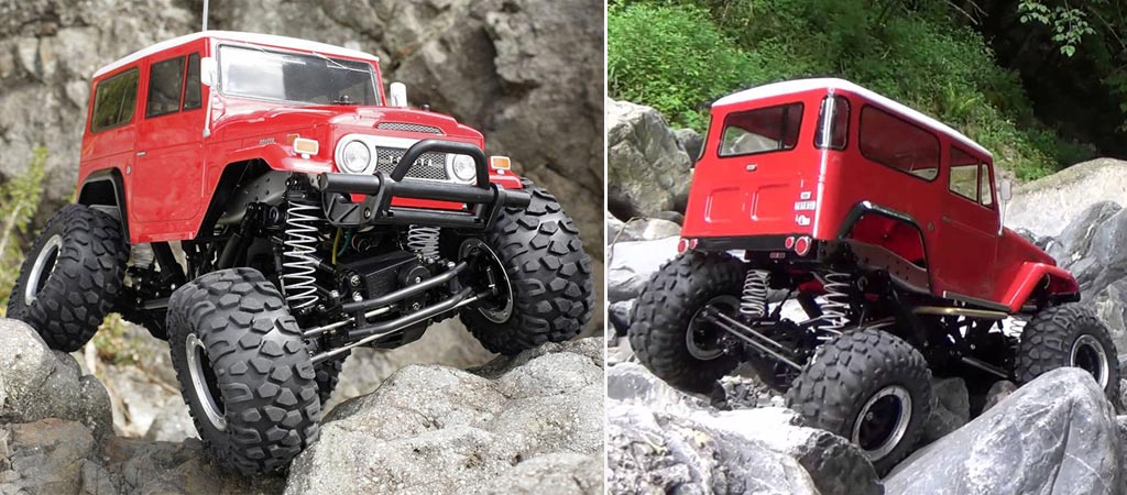 Tamiya RC Toyota Land Cruiser