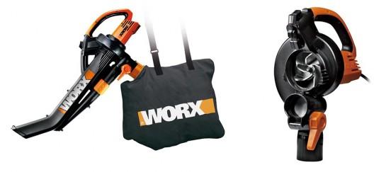 WORX WG509 Electric TriVac | A Blower/Mulcher/Vacuum In-One