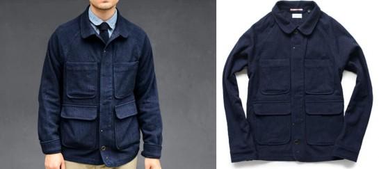 Wool Chore Coat | By Apolis