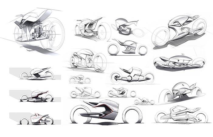 Developing BMW iMotorrad Beta R By Sebastian Martinez