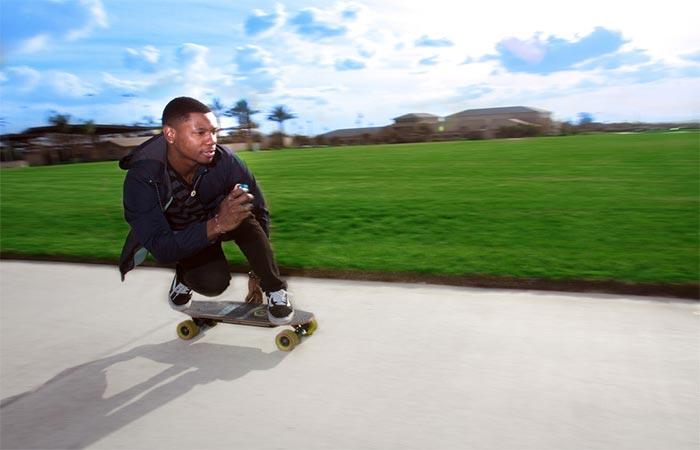 Riding Blink-Board