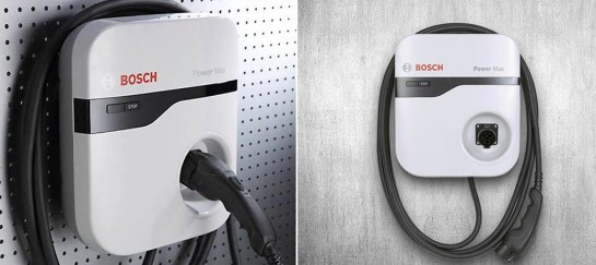 Bosch Electric Car Power Max Charging Station