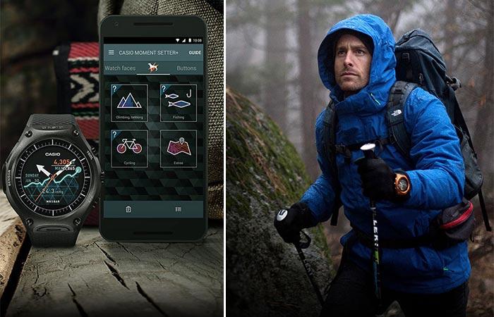 Casio WSD-F10 App