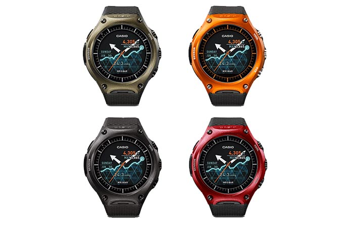 Casio WSD-F10 Four Colors