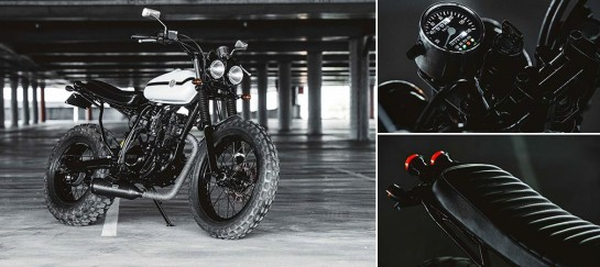 Deus Ex Machina Two-Up Yamaha Motorcycle