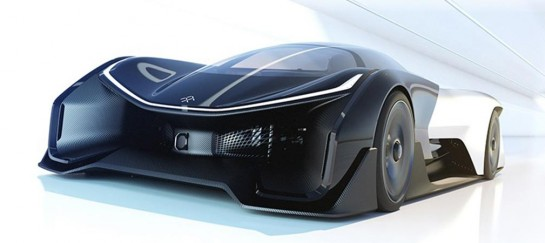FFZERO1 Concept Car Revealed At CES 2016