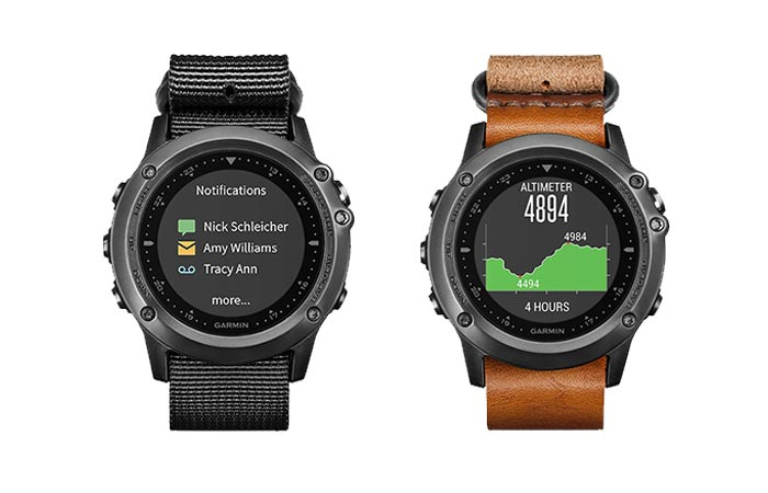 Garmin Fenix 3 HR With Different Straps