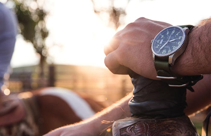 Filson x Shinola Mackinaw Field Watch