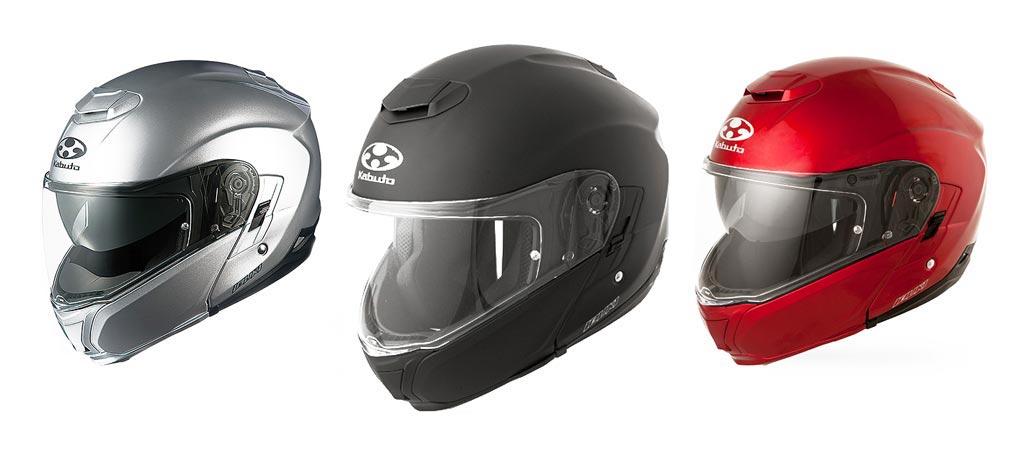 Kabuto Modular Adult Ibuki Cruiser Motorcycle Helmet