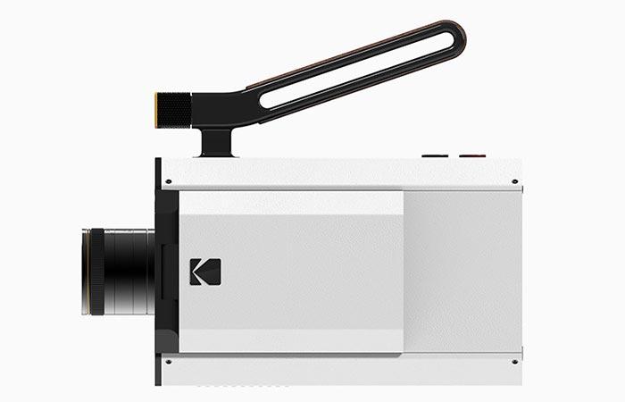 Kodak Super 8 Camera From The Side