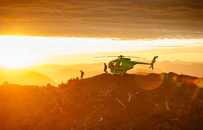 Nimmo Bay Resort Helicopter Resort