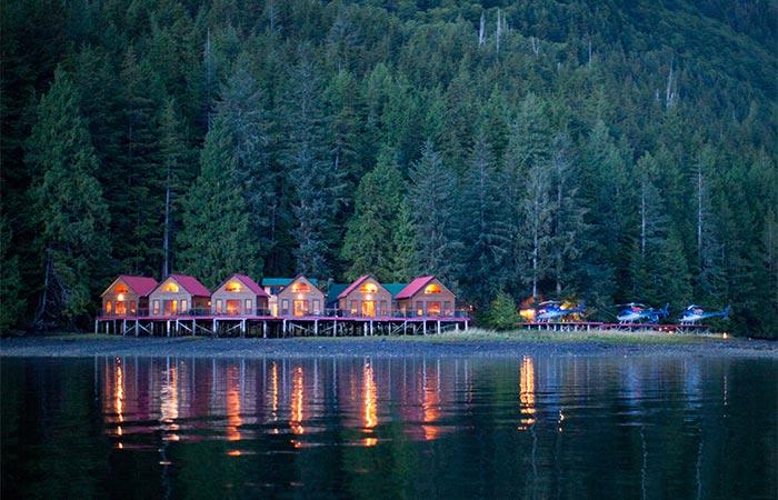 Nimmo Bay Resort Cabins