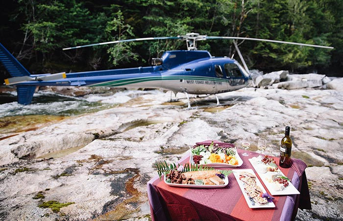Nimmo Bay Resort Helicopter Adventure