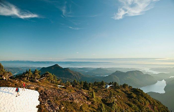 Nimmo Bay Resort Climbing The Mountain