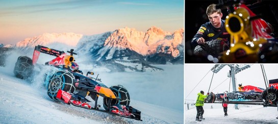 Red Bull's F1 Race Through The Austrian Alps (VIDEO)