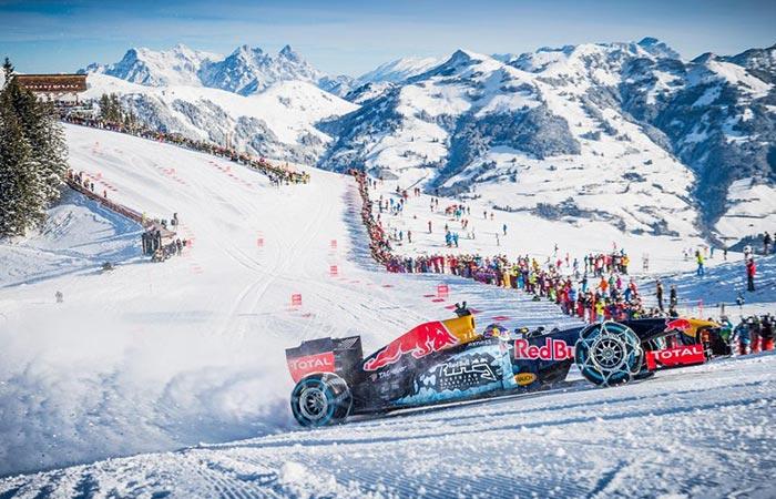Red Bull Car >> Red Bull's F1 Race Through The Austrian Alps (VIDEO)
