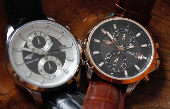 Steiger & Son Revolution 1 Chronograph Watch