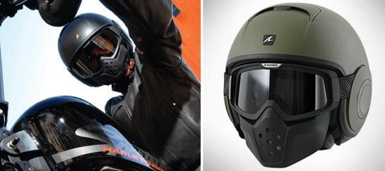 Shark RAW Blank Helmet