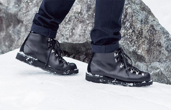 Spectre Bond Boot By Danner On The Snow