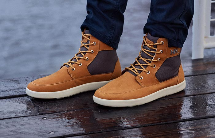 'Stockholm' Sneaker Boot From The Side