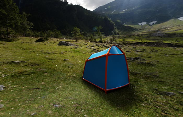 Bolt Air Tent With Lighting Strike Protection