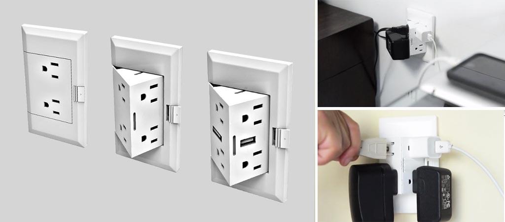 theOUTlet wall plug