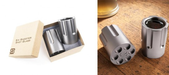Six Shooter Shot Glasses | By Bullets2Bandages