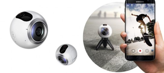 NEW! Samsung Gear 360 Camera