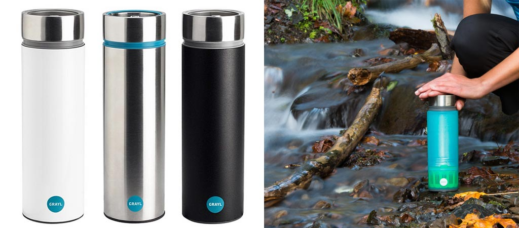 3 GRAYL Water Purifiers You Should Know About