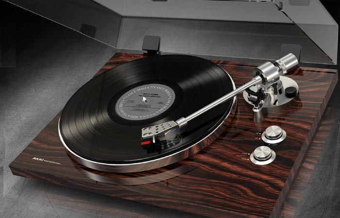 Bt 500 Turntable By Akai Professional Jebiga Design