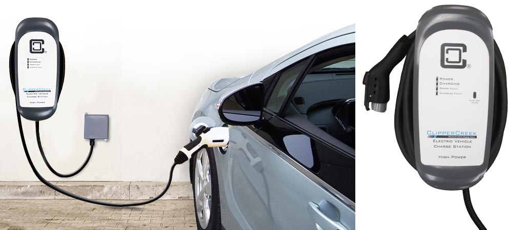 Ford C Max Energi >> ClipperCreek HCS-40 Electric Car Charger