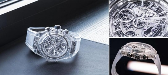 Big Bang UNICCO Sapphire Watch | By Hublot