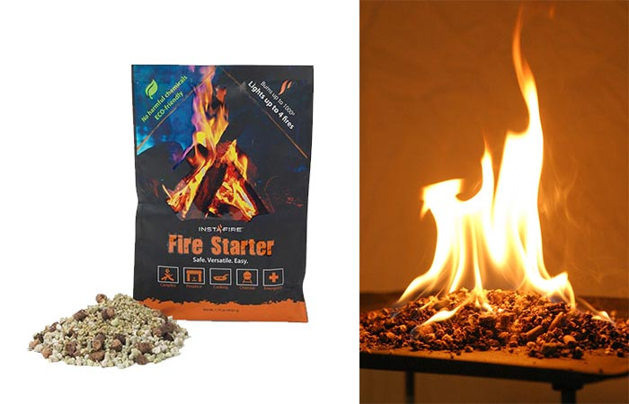 One Pack Of InstaFire Fire Starter