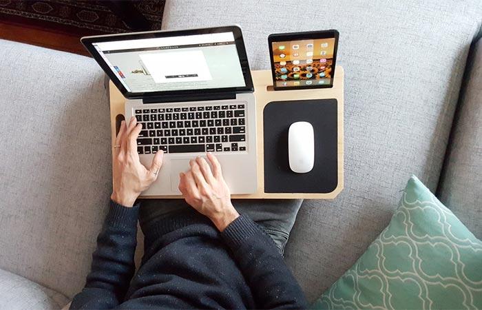 LapPad V2 Holding A Laptop