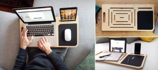 LapPad V2 Portable Laptop Table